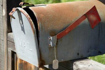 mail box w tags