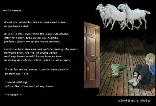 white horses poem