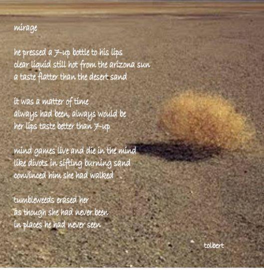 tumbleweed mirage